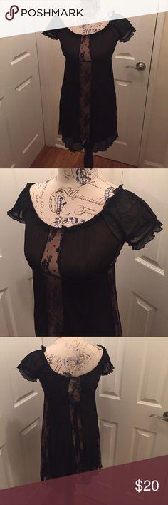 Bebe Dress Black nude dress. Gently worn. bebe Dresses