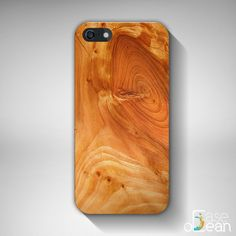 Clear Wooden Glossy iPhone 6, Plus, 5, 5s, 4, 4s, iPhone case, Samsung Galaxy S3, S4, S5, NOT REAL WOOD, amber colors, light 3d wood look