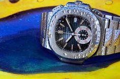 Weekly Watch Photo - Nautilus Chrono - Patek Philippe ref. 5980/1A - Monochrome Watches