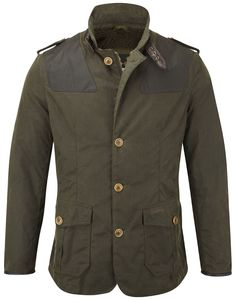 Barbour Men's Wyton Jacket – Olive - Men's Wax Jackets - Men's Jackets and Coats - MEN Barbour Mens, Barbour Jacket, Mens Wax Jackets, Men's Jackets, Barbour Clothing, Men's Clothing, New Outfits, Fashion Outfits, Waxed Cotton Jacket