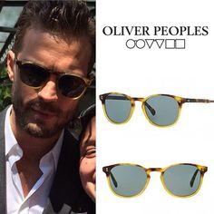 WEBSTA @ cloegralpv - #JamieDornan was wearing EXACT @oliverpeoples 'Finley' Esq. sunglasses today in NYC. #jamiedornanstyle #celebritystyle #menfashion #eyewear #oliverpeoples #sunglasses #exact #shopthestyle