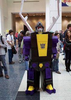 Imagens de Como fazer um Transformers: Insecticon tutorial