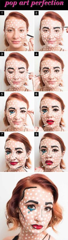 Snapchat inspired makeup tutorials perfect for Halloween costumes