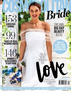 Get your digital subscription/issue of Cosmopolitan Bride Magazine Australia-Summer Magazine on Magzter and enjoy reading the magazine on iPad, iPhone, Android devices and the web. Wedding Verses, Our Wedding Day, 8th Wedding Anniversary Gift, Fun Wedding Invitations, Destination Wedding Photographer, Real Weddings, Wedding Photography, Bride, Cosmopolitan
