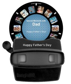 A super cool Father's Day gift! Make a retro reel with your own photos!