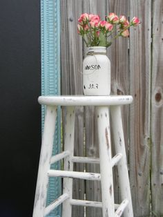 The Cottage Girls  Vintage Farmhouse Old White by TheCottageGirls, $50.00