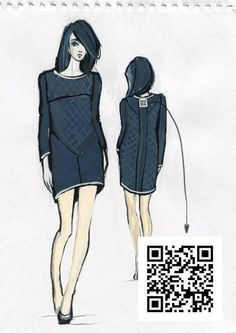 QR collection by Tatiana Malikova, via Behance