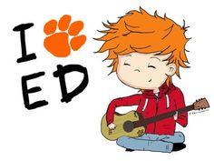 I LOVE ED SHEERAN <3 :'D