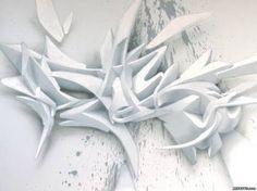 3D graffiti alphabet