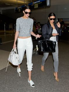 Slip-on shoes, such as espadrilles or loafers, are a great choice when flying.   - MarieClaire.com