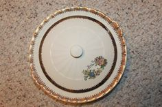 A5 Vintage Cronin China Co Casserole Dish With by CRAZYMARYSFINDS