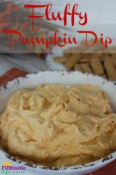 Fluffy Pumpkin Dip R