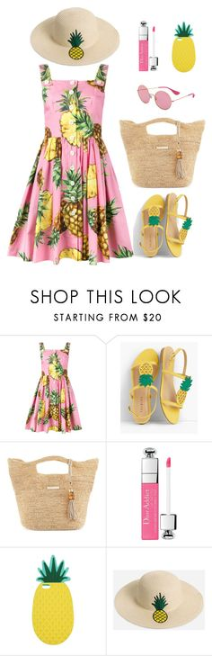 """Summer style in Boho & Romantic"" by elufimova-elena on Polyvore featuring мода, Dolce&Gabbana, Talbots, Heidi Klein, Miss Selfridge, Ashley Stewart и Ray-Ban"