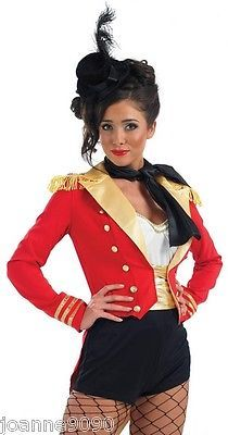 LADIES SEXY RINGMASTER RING MASTER LION TAMER CIRCUS FANCY DRESS COSTUME AND HAT  sc 1 st  Pinterest & DIY Ringmaster | Bday | Pinterest | Wren Costumes and Polyvore