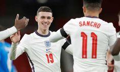 England Goals, England Football Players, England National Team, Jack Grealish, Free Kick, Football Boys, Attractive Men, Soccer Players, Mens Fitness
