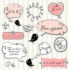 stickers  para decorar cuadernos