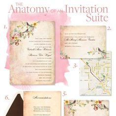 Here's exactly what goes in the stationery suite. Plus, unexpected wording etiquette rules from an invitation expert!