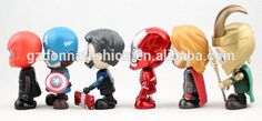 Wholesale PVC 6 Styles Q The Avenger Alliance 2 Action Figure, View captain America, donnatoyfirm Product Details from Guangzhou Donna Fashion Accessory Co., Ltd. on Alibaba.com