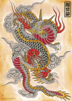 🦇🦇 Great ideas of dragon tattoos 🦇🦇original and modern ideas for men. - 🦇🦇 Great ideas of dragon tattoos 🦇🦇original and modern ideas for men and women - Dragon Tattoo Flash, Asian Dragon Tattoo, Dragon Tattoos For Men, Dragon Sleeve Tattoos, Japanese Dragon Tattoos, Dragon Tattoo Designs, Traditional Japanese Dragon, Watercolor Dragon Tattoo, Tribal Wolf Tattoo
