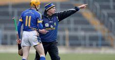 Tipperary manager Eamon O'Shea gives Lar Corbett instructions at Semple Stadium on Sunday. Irish Times, Lorraine, Ireland, Photograph, Sunday, Action, Sports, Photos, Tops
