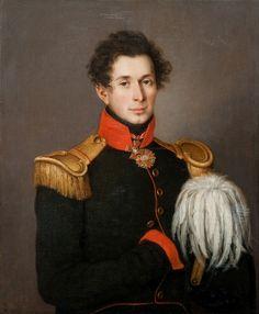 Портрет П. И. Апраксина. Неизвестный художник. Первая четверть XIX в.