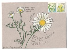 Mail-art from the old herbal | naomi loves