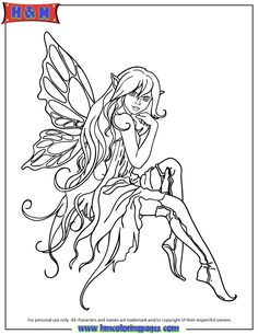 958 Best Fairy Coloring Pages Images Coloring Pages Coloring