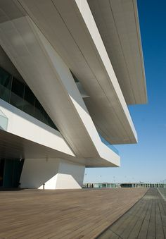 America's Cup Building by David Chipperfield Architects