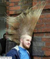 Coiffure Humour. Photos insolites humoristiques des pires coiffures de la planète, images drôles incroyables
