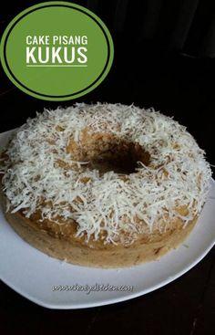 Resep Cake Pisang Kukus Malaysian Chicken Curry, My Recipes, Cake Recipes, Bolu Cake, Resep Cake, Pudding Desserts, Brownie Cake, Indonesian Food, Bakery
