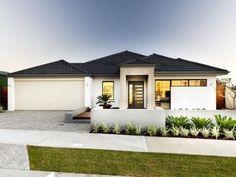 Photo of a concrete house exterior from real Australian home - House Facade photo 1504248