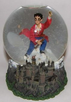 2000 Harry Potter Snowglobe Snowdome Quidditch | eBay