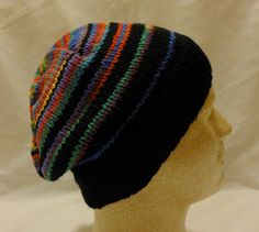 Evening Celebrations  Med/Lg beanie with by PurlyShells808 on Etsy, $17.00