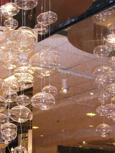 bubble light covered ceiling - Google Search