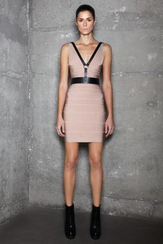 #HerveLerger.  $1250.  It almost seems wrong to post one of their dresses when Kim Kardasian (their main squeeze) just divorced her husband of 2 months.