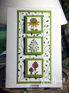 Stampin' Up! Wildflower Fields card