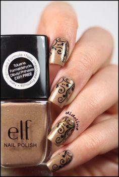 ELF - Des Ongles Glamour - Le Stamping Symétrique