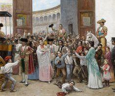 Joaquín Turina y Areal. Salida triunfal de la Maestranza de Sevilla, s.f. Colección Carmen Thyssen-Bornemisza en préstamo gratuito al Museo Carmen Thyssen Málaga