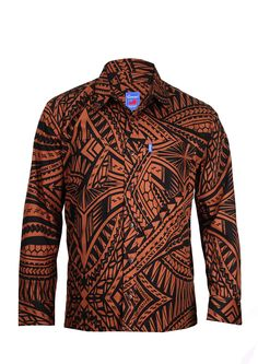 Mens Long Sleeve Elei Shirt