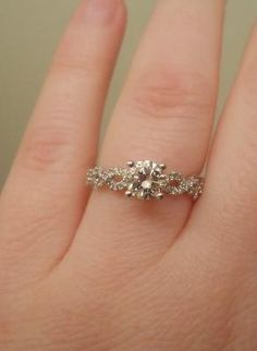 """The #diamonds shine so bright in the sun. It's absolutely perfect!"""" http://www.jangmijewelry.com/"""