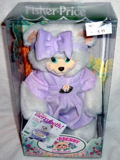 Briarberry Collection Berrybeth Bear Fisher Price 1998 Stuffed Toy Doll RARE | eBay