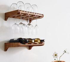 Harlow Wall-Mounted Wine Storage