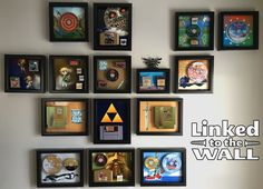 Why not turn your cartridges into art instead of keeping them hidden away?