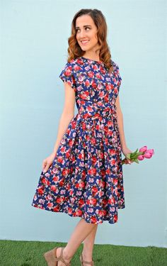 Our Floral Bow Dresses are perfect for spring