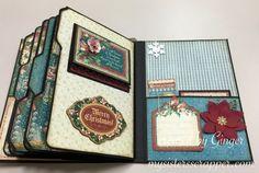 ButterBee Scraps Design Team Project – G45 Christmas Carol Mini Album