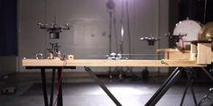 Drones tocam uma incrível versão da música tema de 2001: Uma Odisséia no Espaço