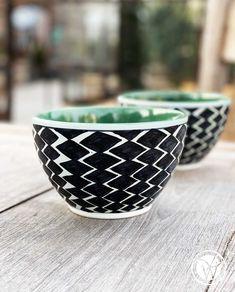 """Müslischale """"Black & White"""" Nice, Tableware, Dinnerware, Tablewares, Porcelain"""