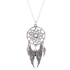 GET $50 NOW | Join RoseGal: Get YOUR $50 NOW!http://www.rosegal.com/necklaces/cobweb-angel-wings-necklace-773704.html?seid=kajb37r35aol87o92vfih90qk3rg773704