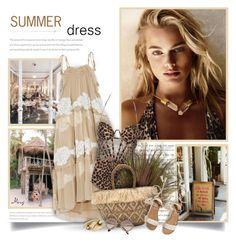 """Summer Dress"" by thewondersoffashion ❤ liked on Polyvore featuring Prada, Chloé, Zimmermann, Kayu, Hollister Co., Lulu Frost and Miu Miu"