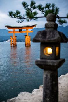 Itsukushima torii, Japan